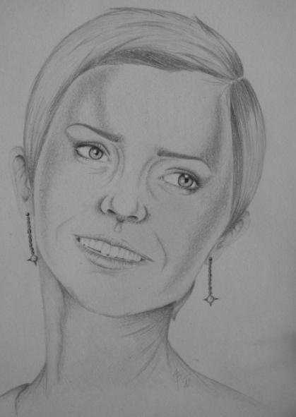 Emma Watson by J.K